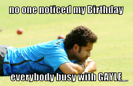 Sachin Trolled on his Birthday